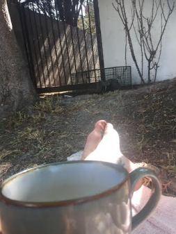 Coffee with mama